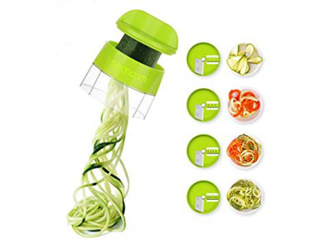 découpe légumes spiralizer